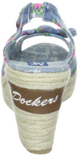 Dockers by Gerli 303252-211585 Damen Sandalen/Fashion-Sandalen Blau (hellblau 585)