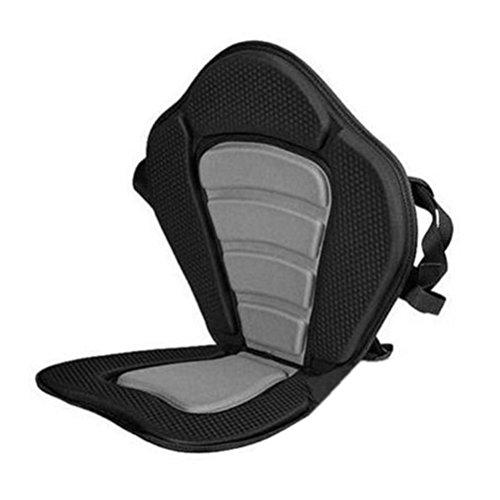 ounona Sitz gepolstert verstellbar für Kanu Kajak Boot mit der Tasche hinten -