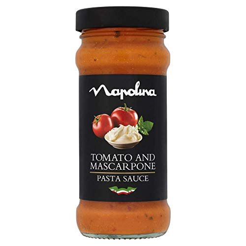 Napolina Tomato and Mascarpone Sauce, 350 g, Pack of 6