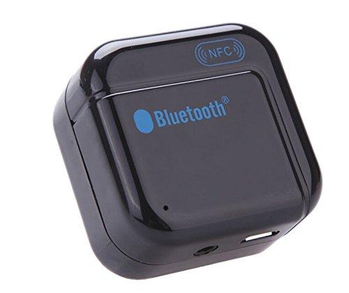 BW BWH266 Promotion Audio-Stereo-Musik-Receiver für NFC Telefon-Sound-System Home Spot Wireless NFC aktiviert H266 Bluetooth Audio-Receiver - Schwarz