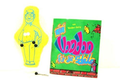 Voodoo Puppe Schule Set mit Nadeln und Handbuch *VK 6,90 VOODOOPUPPE