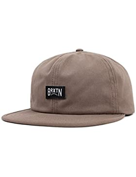 Brixton Unisex Headwear Langley Cap, Unisex, Langley Cap, Washed Mocha, Talla única