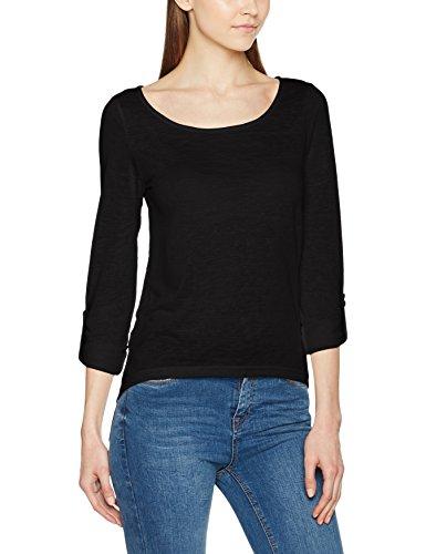 Vila Visumi L/S Top Gv, T-Shirt Femme Noir (Black)