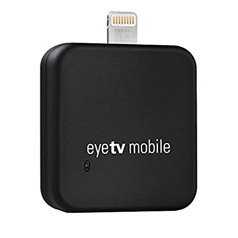 Geniatech EyeTV Mobile TV-Tuner für den Lightning-Anschluss (iPad, iPad mini, iPhone) schwarz