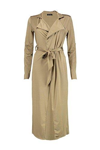 olive Femmes willow ensemble assorti short et manteau ample cache-cœur noué Olive