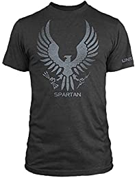 T-shirt Halo Spartan Eagle coton noir
