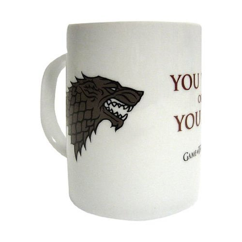 Game Of Thrones SDTHBO27398 - Taza cerámica con diseño You Win Or You Die (SD Toys SDTHBO27398) - Taza Juego de Tronos You Win, You Die