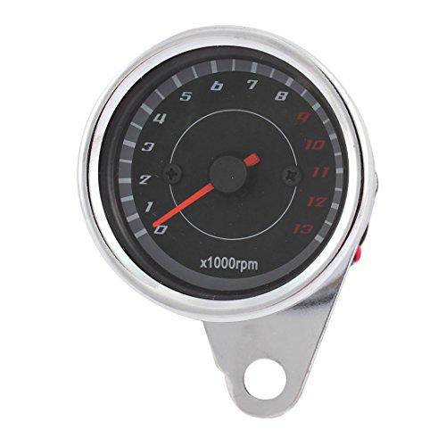 Motorrad Universal wasserdichte Drehzahlmesser Tachometer Manometer0-13000RPM