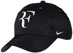 Nike Roger Federer Tennis Cap, Free Size (Black/White)