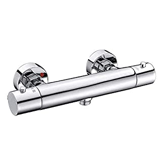 S R SUNRISE Morderne Shower Thermostat Brass for Bathroom Shower Thermostat Mixer Tap Shower