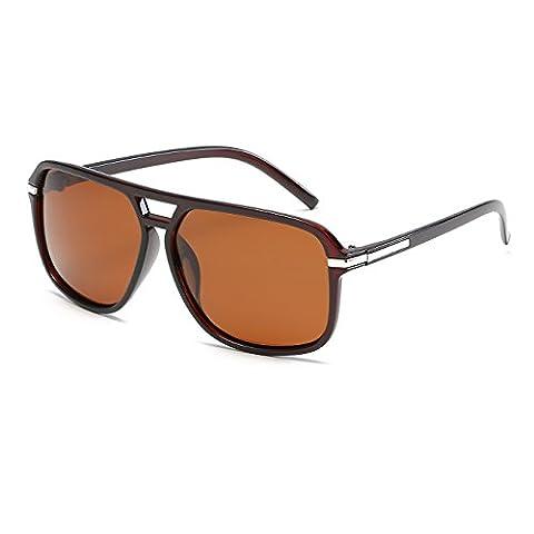CVOO Unisex Retro Sunglasses Polarized Eyewear Sun Glasses For Men/Women