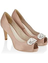 Monsoon Femme Chaussures ouvertes à nœuds Diana