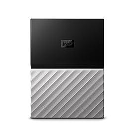 WD 2TB My Passport Ultra Hard Disk Esterno Portatile, Nero/Grigio - WDBFKT0020BGY-WESN