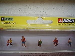 NOCH 36870 Figures parte y accesorio de juguet ferroviario - partes y accesorios de juguetes ferroviarios (Figures, NOCH, 6 pieza(s), Multicolor)
