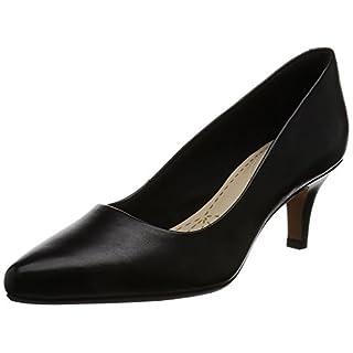 Clarks Damen Isidora Faye Pumps, Schwarz (Black Leather), 40 EU