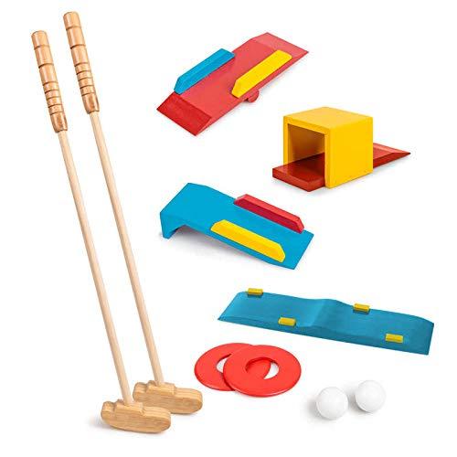 Tobar - 27896 - Jeux de golf en bois avec accessoires