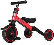Kiwicool 3 in 1 Kids Tricycles for 1.5-4 Years Old Kids Trike 3 Wheel Bike Boys Girls 3 Wheels Toddler Tricycl