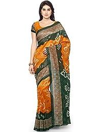 BuyOnn Sarees For Women Latest Design Party Wear Multi Color Bhagalpuri Silk Sarees New Collection Party Wear...