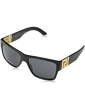 Versace 0Ve4296, Gafas de Sol para Hombre, Black, 59