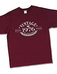 1976 Vintage Year - Aged to Perfection - 41 Ans Anniversaire T-Shirt pour Homme