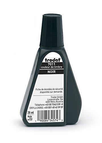 Trodat b170111Flacone per timbro 7011A Nero