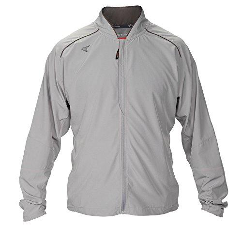 Easton Herren M10Stretch Woven Full Zip Jacke, Herren, grau - Stretch Woven Jacket