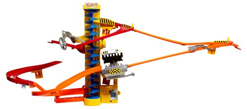 Hot Wheels Wall Tracks Power Tower Trackset by Hot Wheels Wall Track