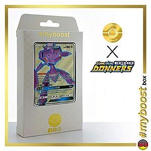 Genesect-GX 204/214 Full Art - #myboost X Sonne & Mond 8 Echo Des Donners - Box de 10 Cartas Pokémon Alemán