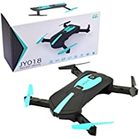 RC Quadcopter Drone Camera, JY018 WiFi FPV Quadcopter Mini Dron Foldable Selfie Drone RC Drones With 2.0 MP 720P HD WIFI Camera - Compare prices on radiocontrollers.eu