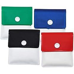 Meta-U poche étrave - PVC ignifuge - sans odeur - compact portatif - Ensemble de couleurs assorties de 4