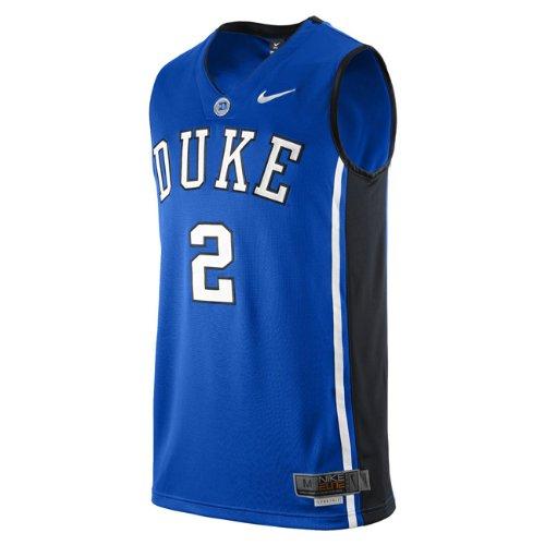 Nike Duke Blue Devils #2 Blue College Basketball Trikot (XXL)