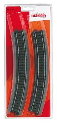 Märklin 20230 - Pista curva 30º (6 unidades) de Märklin