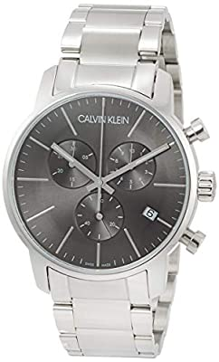 Calvin Klein–Reloj de Pulsera Hombre cronógrafo Cuarzo Acero Inoxidable k2g27143 de Calvin Klein