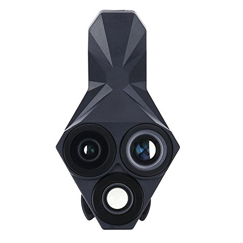 Asiproper triangle 3in 1per telefono fotocamera obiettivo grandangolare + fisheye + obiettivo macro