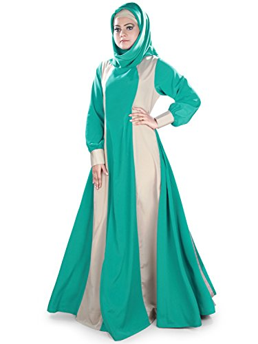 MyBauta Beautiful Anarkali Style Karimah Abaya