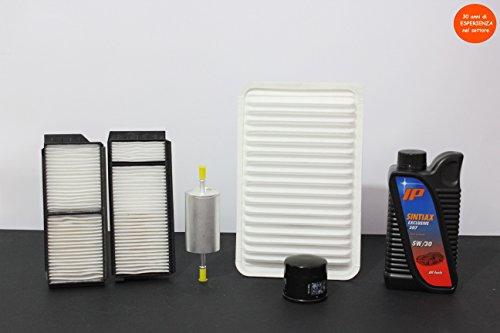 """Preisvergleich Produktbild 'Gutschein 4Filter (aria-olio-abitacolo-carburante) + 4lt Öl """"Fuel Economy"""" sehr hohe Leistung """"Longlife (garantiert für 30.000km)"""