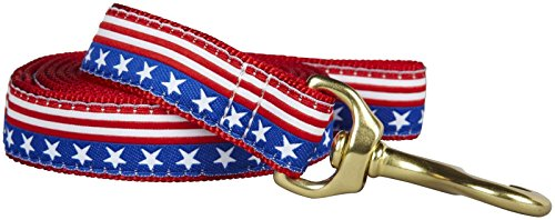 Up Country Star & Stripes Hund Leine, Small, Stars and Stripes