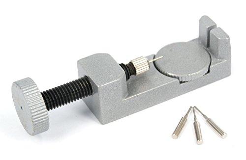 Armbandkürzer Stiftausdrücker Stiftaustreiber Uhrenwerkzeug + 3 Ersatzstifte