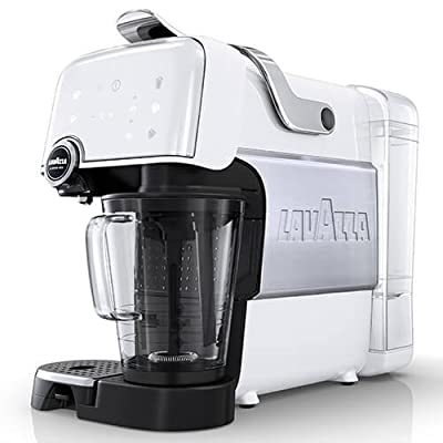 LVZ10080231 Espresso Coffee Maker with 1200W and 1.2L Tank Capacity in White from lavazza