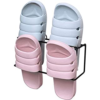 Bathroom Creative Slippers Rack Toilet Simple Door Rear Walls Wall-Mounted Shoe Rack Household Economy Storage Shoe Rack