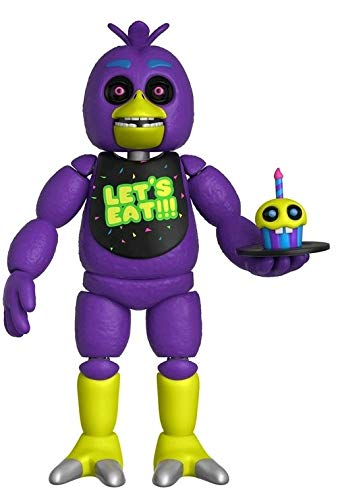 "Five Nights at Freddy's - Chica Black Light 5"" Action Figure"