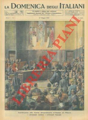 I processi contro i criminali fascisti alla Corte straordinaria d'Assise di Milano.