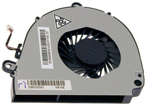 Acer 23.R9702.001 CPU-Lüfter Notebook-Ersatzteil - Notebook-Ersatzteile (CPU-Lüfter, Acer, Schwarz, Metallisch, Aspire 5750, 5750G, 5750Z, 5750Z, G5755, 5755G) (Notebook-cpu-lüfter)