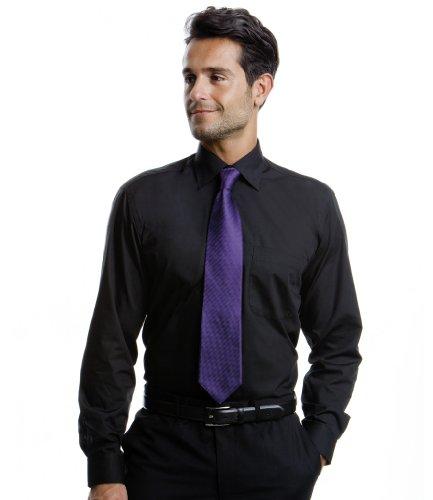 Kustom Kit-Camicia a maniche lunghe da KK131 Black
