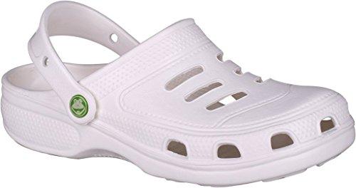 Coqui Clogs Unisex -, Schuhe, in verschiedenen Farben Weiß