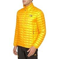 Men's The North Face Thermoball-Giacca con Zip intera, motivo: Zinnia Giallo Arancione XL