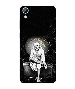 PrintVisa Designer Back Case Cover for HTC Desire 826 :: HTC Desire 826 Dual Sim (Lord saibaba god prayer blessings)