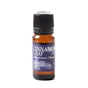 Olio Essenziale Organico Foglie di Cannella - 10ml - 100% Puro