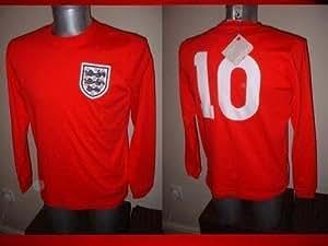 England Shirt Jersey BNWT Adult Small Umbro Hurst West Ham 1966 Winners Football Soccer Long Sleeve Cotton