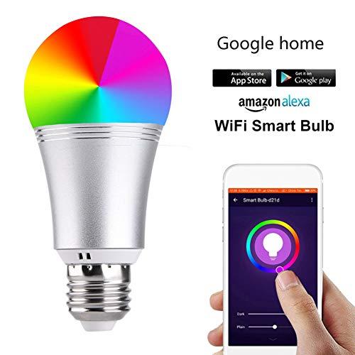 4er Pack Wifi Smart Glühbirne Alexa Google Home Sprachsteuerung Rgbw Led Glühbirnenlicht